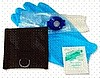 OWV CPR Faceshield with gloves & wipe in belt pouch